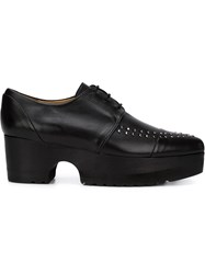 Thakoon Addition 'Karo' Lace Up Shoes Black