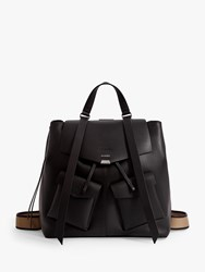 Allsaints Darcy Leather Backpack Black