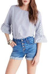 Madewell Women's Sonia Bell Sleeve Blouse