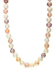 Effy Sterling Silver Pink Pearl Necklace
