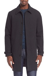A.P.C. Cotton And Wool Topcoat Anthracite