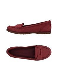 Timberland Loafers Maroon