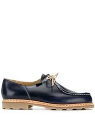 Paraboot Lace Up Shoes Blue
