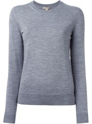 Burberry Brit Elbow Patch Sweater Grey