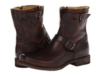 Frye Smith Engineer Dark Brown Antique Pull Up Cowboy Boots