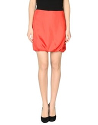 Mcq By Alexander Mcqueen Mcq Alexander Mcqueen Knee Length Skirts Red