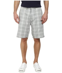 Quiksilver Regent Stack Pv Walk Shorts High Rise Grey Men's Shorts Gray