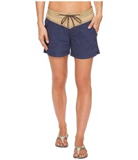 Columbia Down The Path Shorts Crouton Nocturnal Women's Shorts Blue