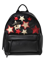 Chiara Ferragni Flirting Stars Faux Leather Backpack
