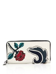 Marc Jacobs Collage Leather Clutch Dove Multi
