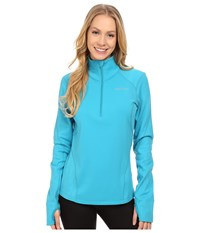 Pearl Izumi Fly Thermal Run Top Algiers Blue Women's Clothing