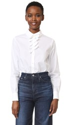 Sonia Rykiel Bows Button Down White
