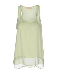 Met And Friends Topwear Tops Women Light Green