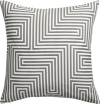 Cb2 Vibe 18'' Pillow With Feather Down Insert