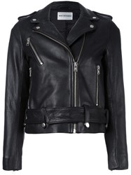 Won Hundred 'Skye Winter' Biker Jacket Black
