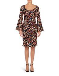 Tracy Reese Floral Sheath Dress