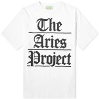 Aries Project Tee White