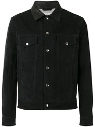 Golden Goose Deluxe Brand Buttoned Jacket Black