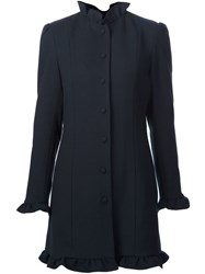 J.W.Anderson Frill Trim Coat Blue