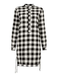 Oui Gingham Tunic Check