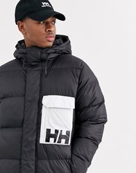Helly Hansen Pandc Puffer Jacket In Black