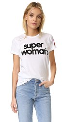 Freecity Super Woman Short Sleeve Tee White