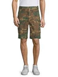 Ovadia And Sons Storm Utility Camouflage Shorts