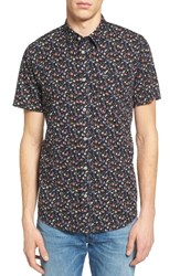 Rvca Men's Party All The Time Woven Shirt