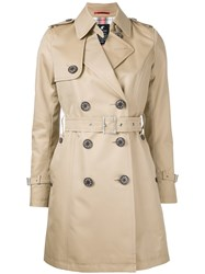 Loveless Classic Trench Coat Brown