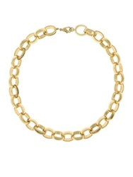 Laundry By Shelli Segal Goldtone Chain Link Necklace