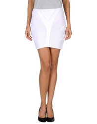Faith Connexion Mini Skirts White