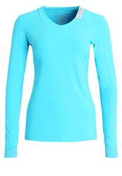 Gore Running Wear Air Long Sleeved Top Scuba Blue Light Blue