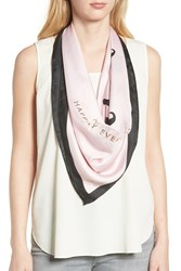 Kate Spade Just Married Square Silk Scarf Blush