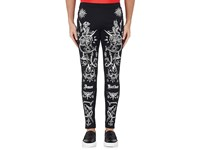 Givenchy Men's Tattoo Print Jersey Leggings Black
