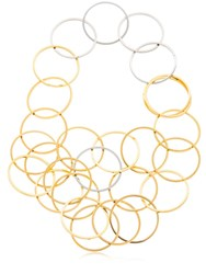 Vita Fede Zaha Link Necklace Gold Silver