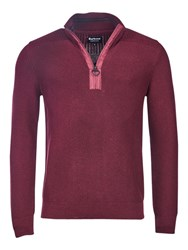 Barbour International Alloy Half Zip Jumper Port