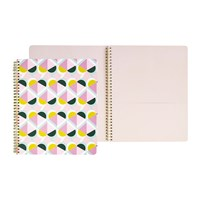 Kate Spade Geo Spiral Notebook Large