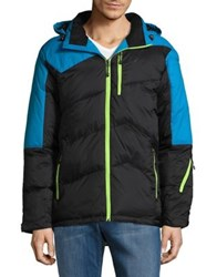 Hawke And Co Cool Quilted Jacket Walker Grey