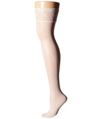 Falke Seidenglatt 15 Stocking White Hose