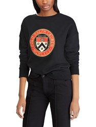 Ralph Lauren Polo Crest Fleece Sweatshirt Polo Black