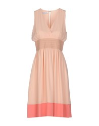 Caractere Dresses Knee Length Dresses Women Light Pink