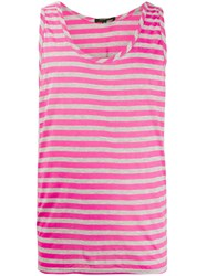Unconditional Striped Tank Top Pink