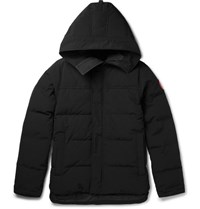 Canada Goose Macmillan Quilted Down Parka Black