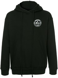 Song For The Mute Logo Print Hoodie Black