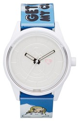 Women's Harajuku Lovers Resin Solar Watch 40Mm Get Off My Cloud Limited Edition