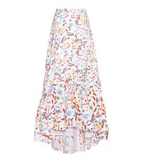 Peter Pilotto Printed Stretch Cotton Skirt Multicoloured