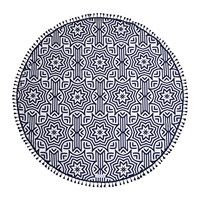 Sunnylife Azule Round Beach Towel