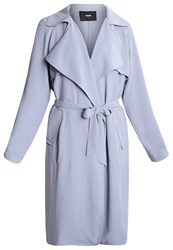 Bik Bok Tracy Trenchcoat Blue
