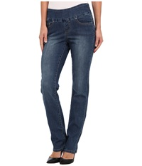 Jag Jeans Peri Pull On Straight In Blue Dive Blue Dive Women's Jeans