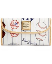 Dooney And Bourke New York Yankees Wallet White